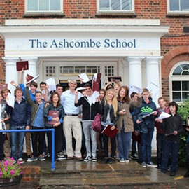 Ashcombe School and Vocab Express