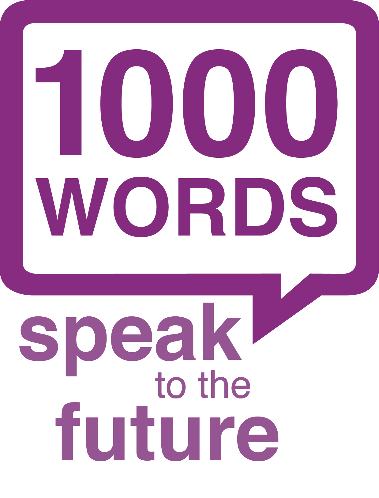 Speak To The Future 1000 Words Challenge